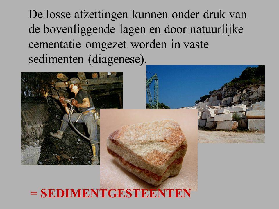 Stollingsgesteenten en sedimentgesteenten kunnen ook betrokken worden bij gebergtevorming.