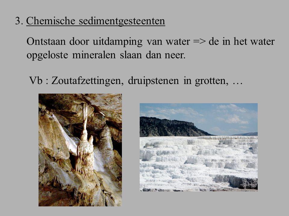 Metamorfe gesteenten Door hoge druk en/of temperatuur kunnen gesteenten een omvormingsproces ondergaan.