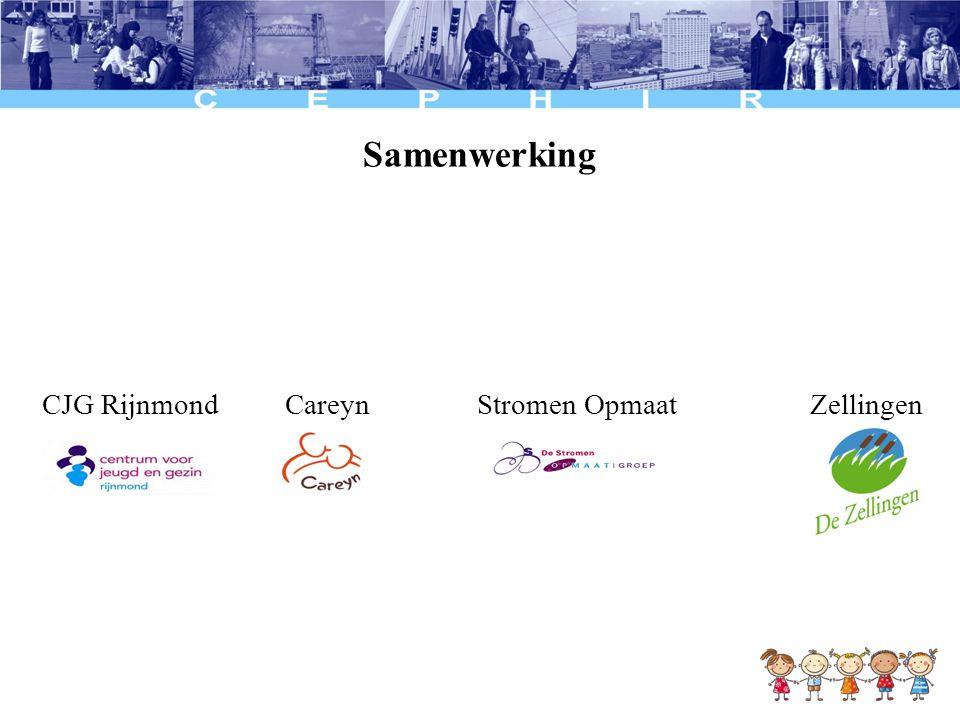Samenwerking CJG Rijnmond Careyn Stromen Opmaat Zellingen