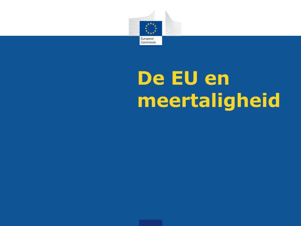 De EU en meertaligheid