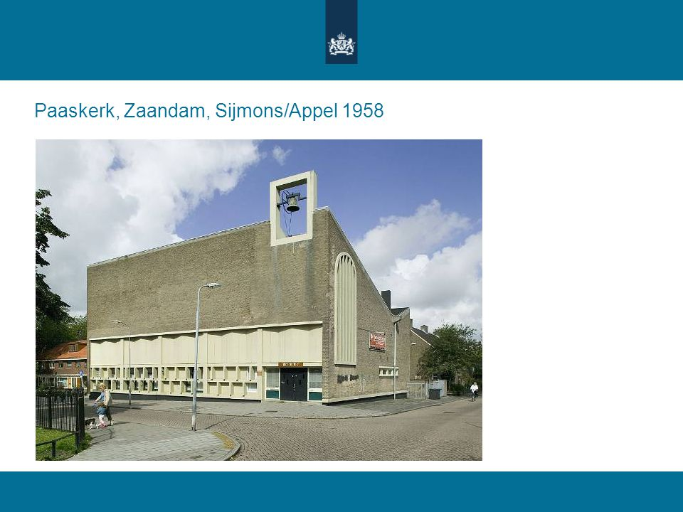 Paaskerk, Zaandam, Sijmons/Appel 1958