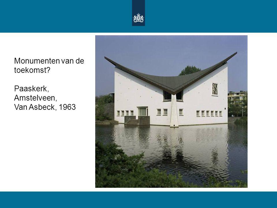 Monumenten van de toekomst? Paaskerk, Amstelveen, Van Asbeck, 1963