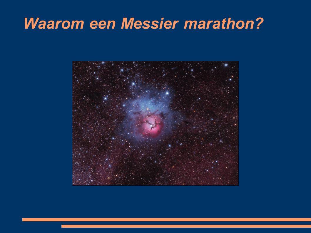 Waarom een Messier marathon