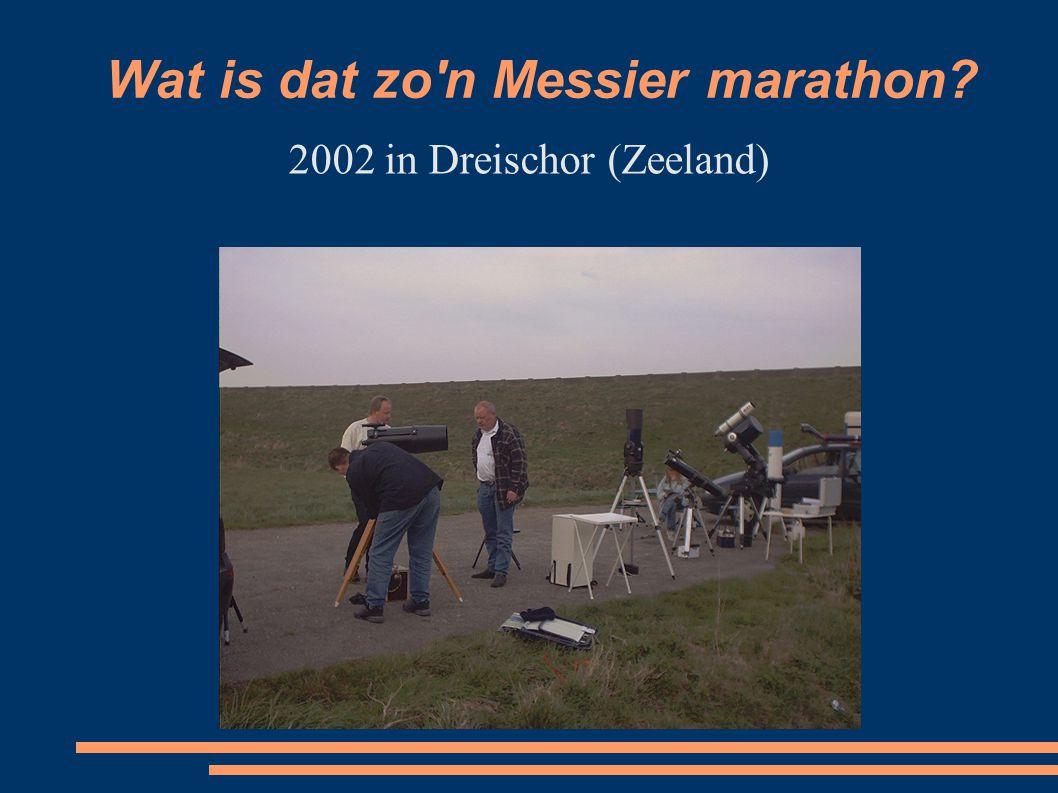 Wat is dat zo n Messier marathon? 2009 in Melissant (Zuid-Holland)