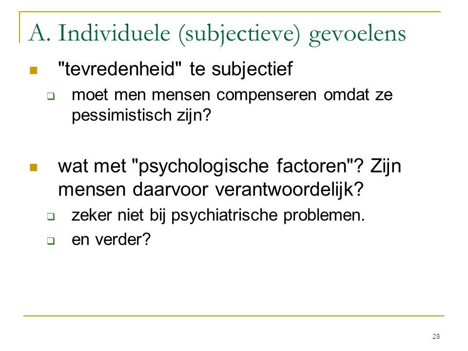 29 Een vraag: het belang van genetische factoren.