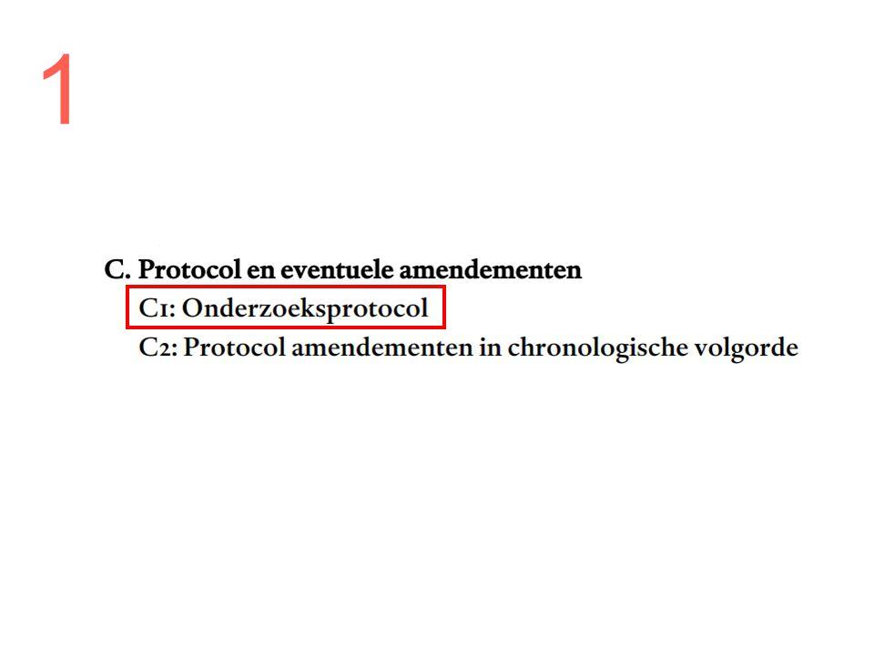 Protocol Taak van onderzoeker Overleg met research-vpk over: –Haalbaarheid –Wet- en regelgeving –Praktische zaken