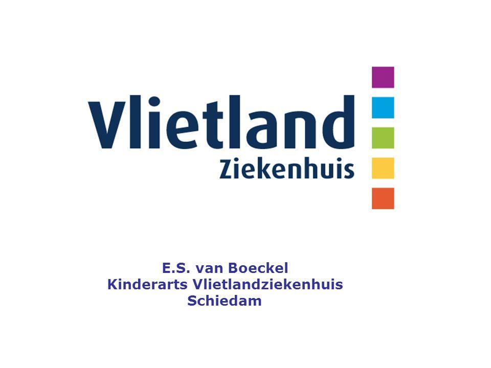 E.S. van Boeckel Kinderarts Vlietlandziekenhuis Schiedam