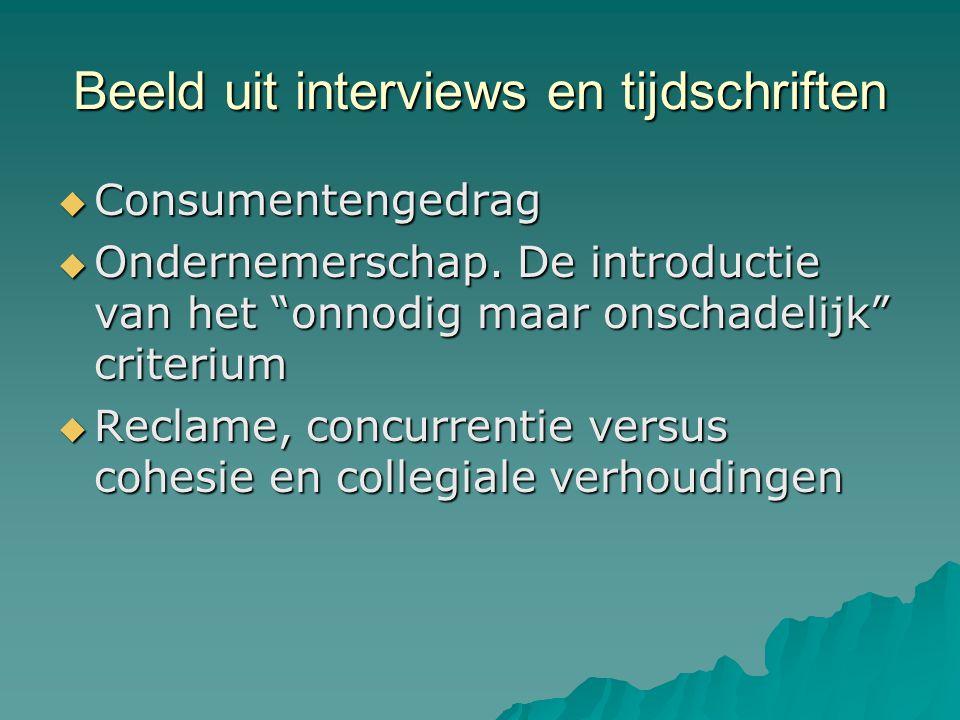 Beeld uit interviews en tijdschriften  Consumentengedrag  Ondernemerschap.