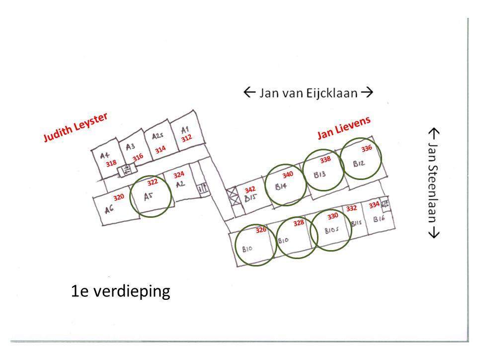 2 e verdieping Jan Lievens Judith Leyster 344 346 348 350 352 354 356 358 366 364 362 360 368 370 372 374 376