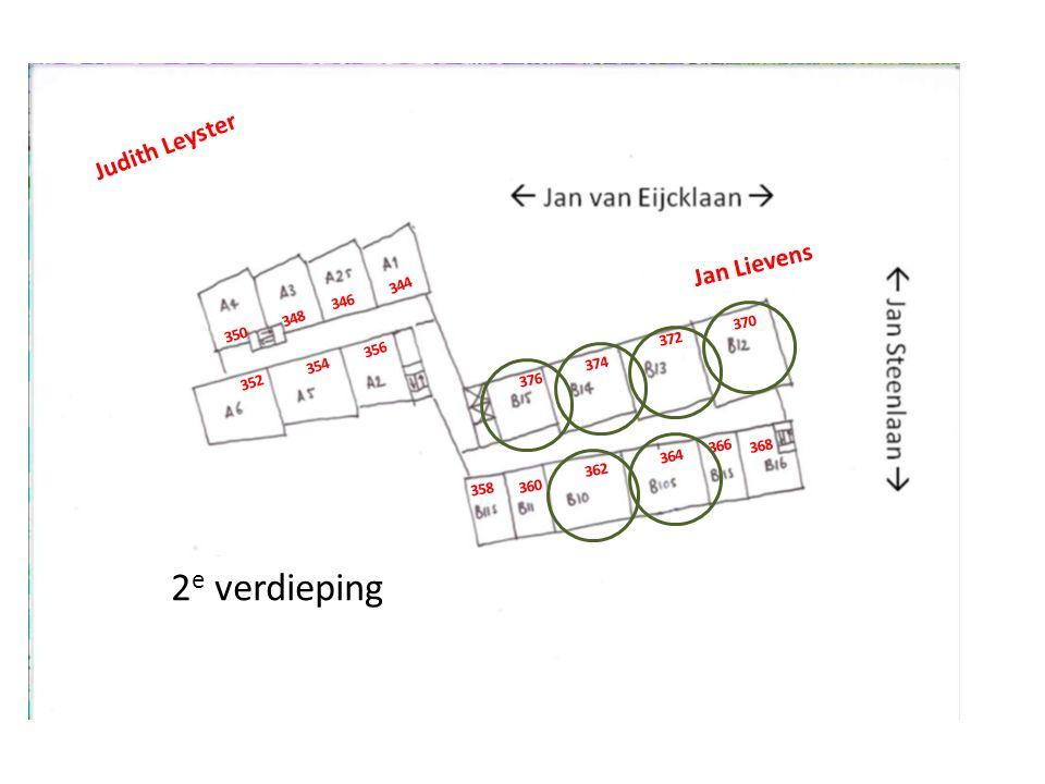 3 e verdieping Judith Leyster Jan Lievens 378 380 384 382 386 388 394 396 398 400 402 390 406 408 410 404 392