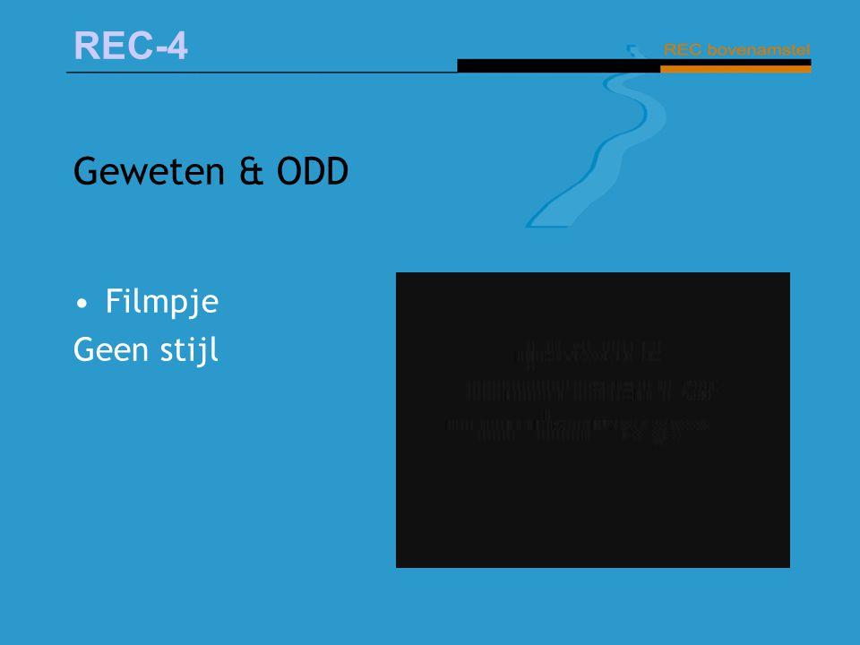 REC-4 Geweten & ODD Filmpje Geen stijl