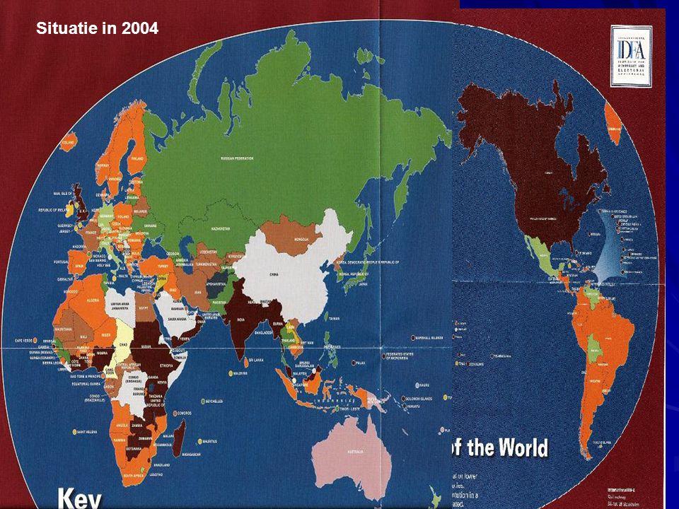 (C) Prof. dr. Stefaan Fiers - KULeuven 2013-2014 43 Situatie in 2004