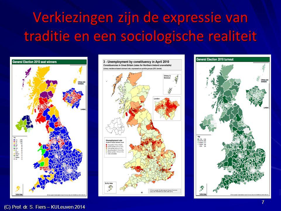 7 Verkiezingen zijn de expressie van traditie en een sociologische realiteit