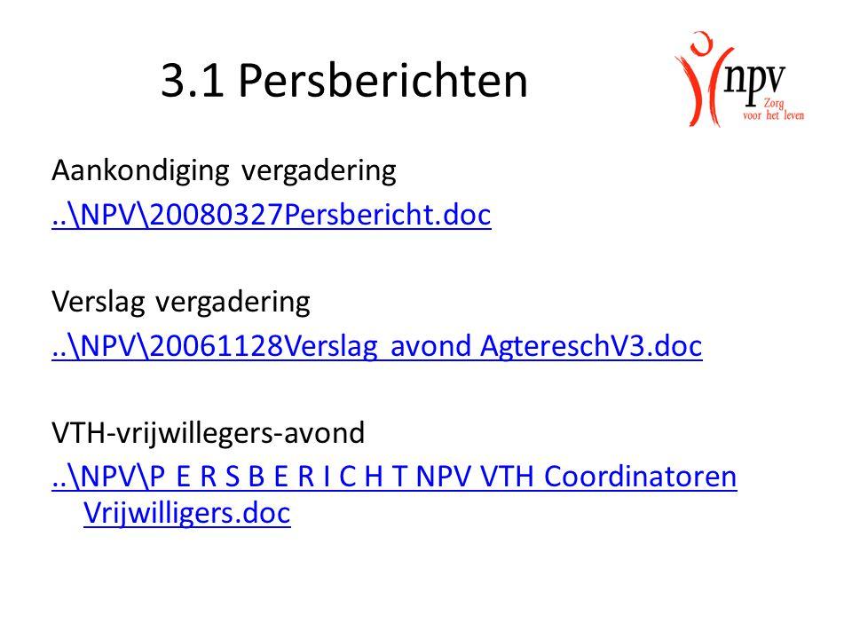 3.1 Persberichten Aankondiging vergadering..\NPV\20080327Persbericht.doc Verslag vergadering..\NPV\20061128Verslag avond AgtereschV3.doc VTH-vrijwille