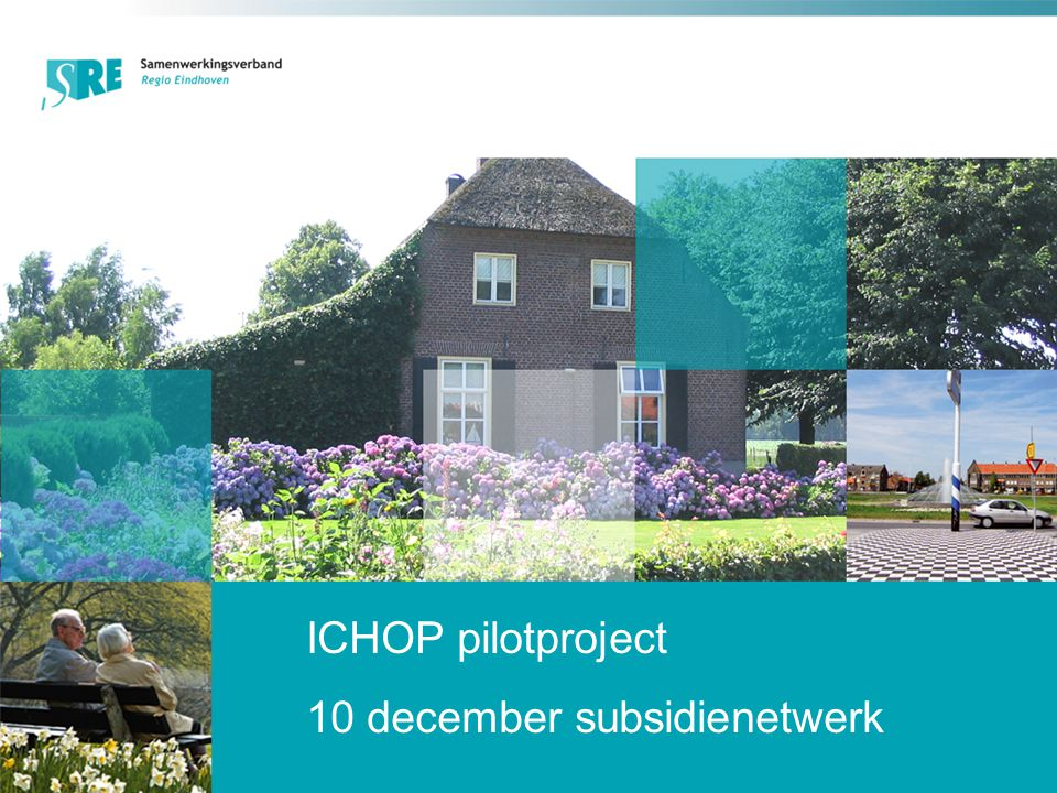 ICHOP pilotproject 10 december subsidienetwerk