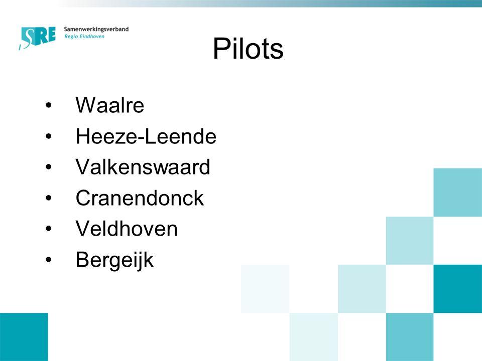 Pilots Waalre Heeze-Leende Valkenswaard Cranendonck Veldhoven Bergeijk