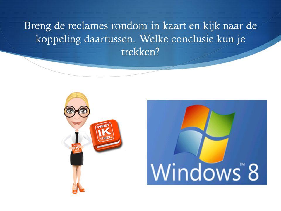 Duidelijk:  Microsoft  Windows 8