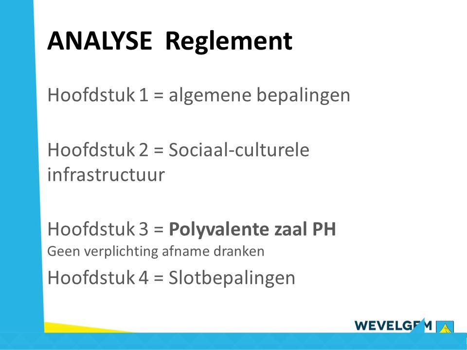 Artikel 48 : 1/3 van de zaal 1° leden van adviesraad & koepelorganisaties Optelsom van - forfait van 225 € per per dag met publieksmoment - aantal uren gebruik aan 9 €/u (met max.