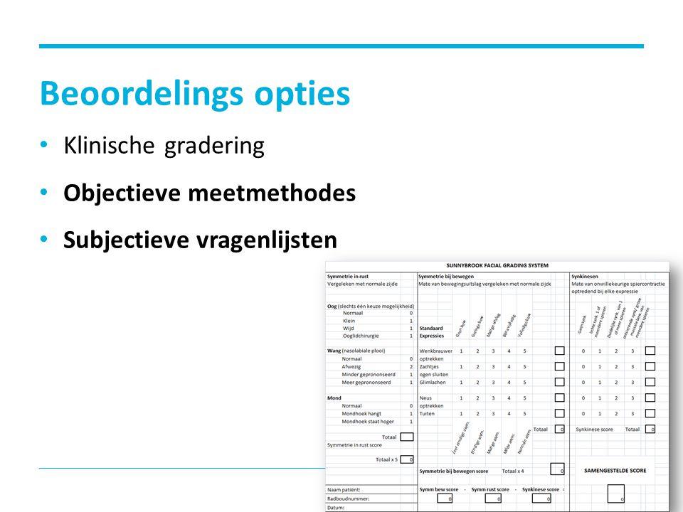 Objectieve meetmethodes