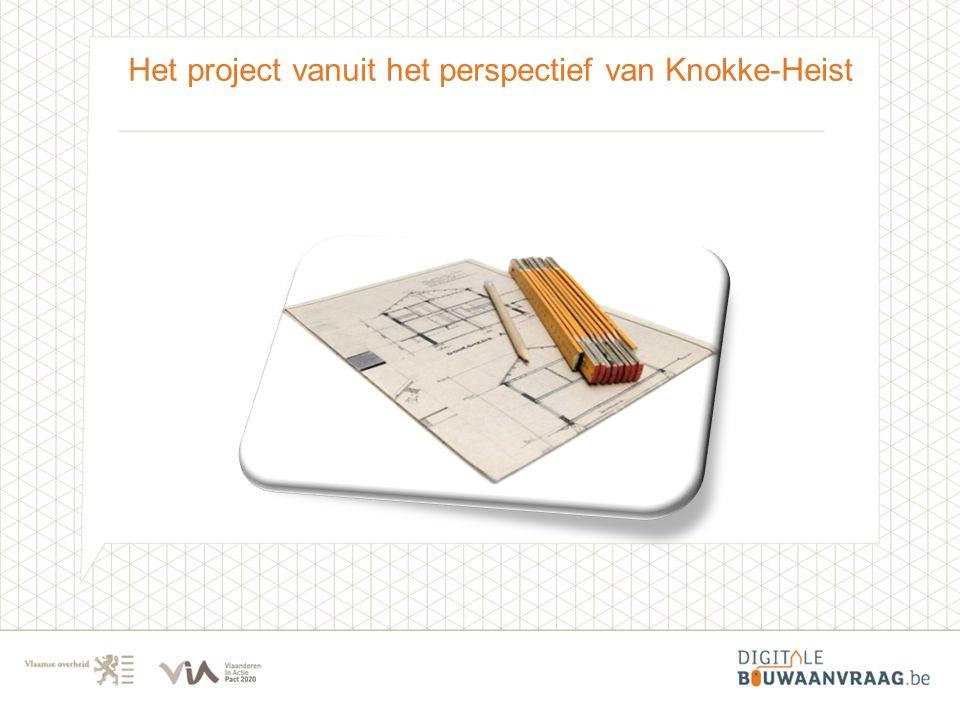 Het project vanuit het perspectief van Knokke-Heist
