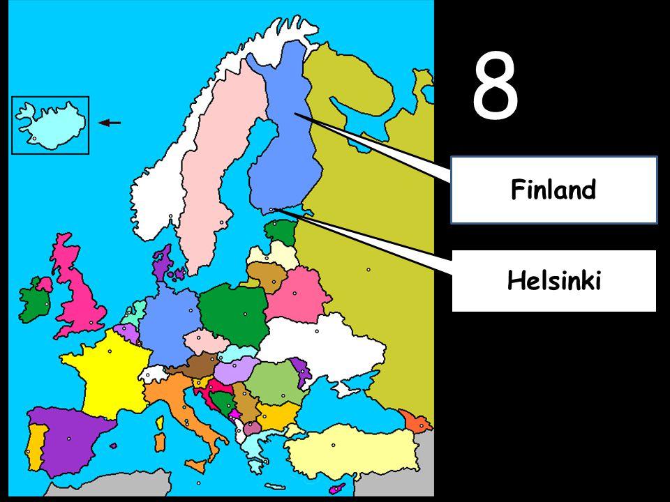 8 Helsinki Finland