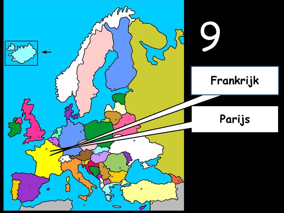 9 Parijs Frankrijk