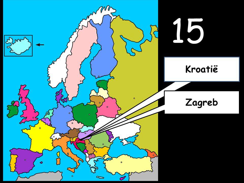 15 Zagreb Kroatië