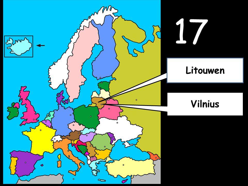 17 Vilnius Litouwen
