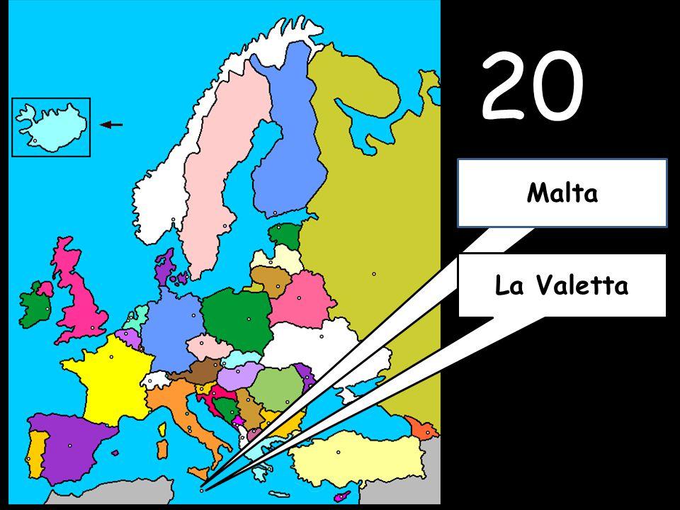 20 La Valetta Malta