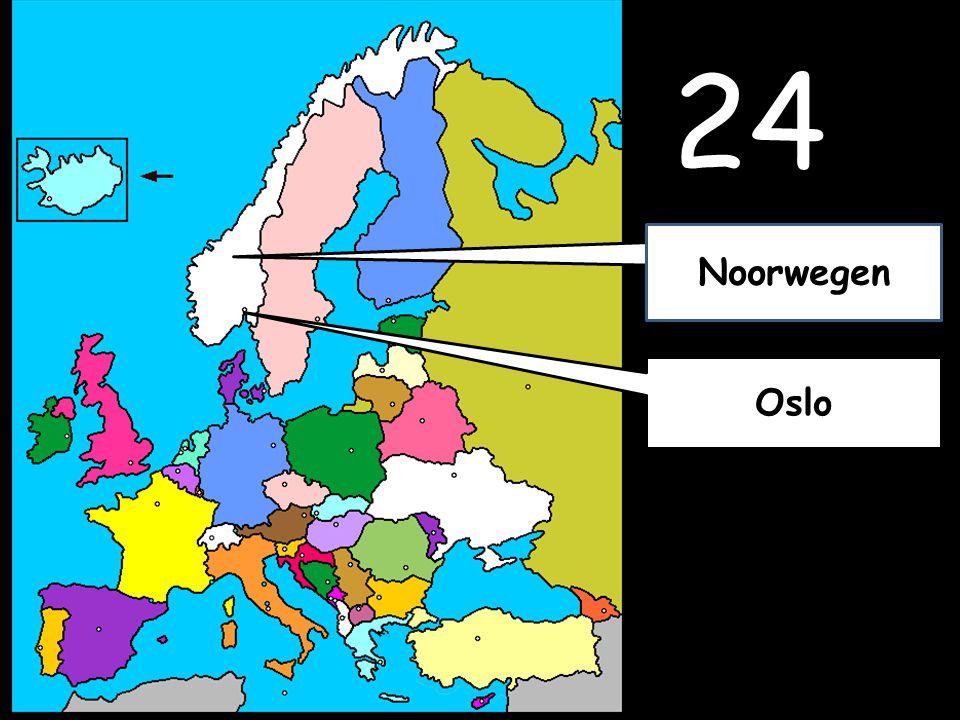 24 Oslo Noorwegen