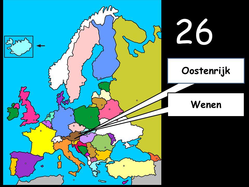 26 Wenen Oostenrijk