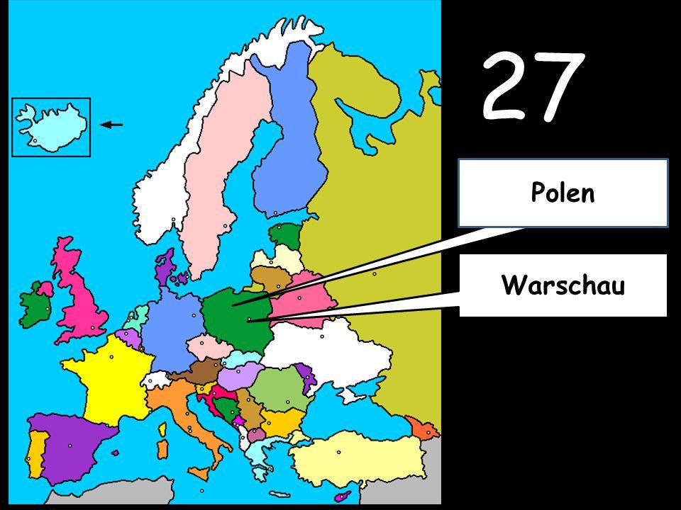 27 Warschau Polen