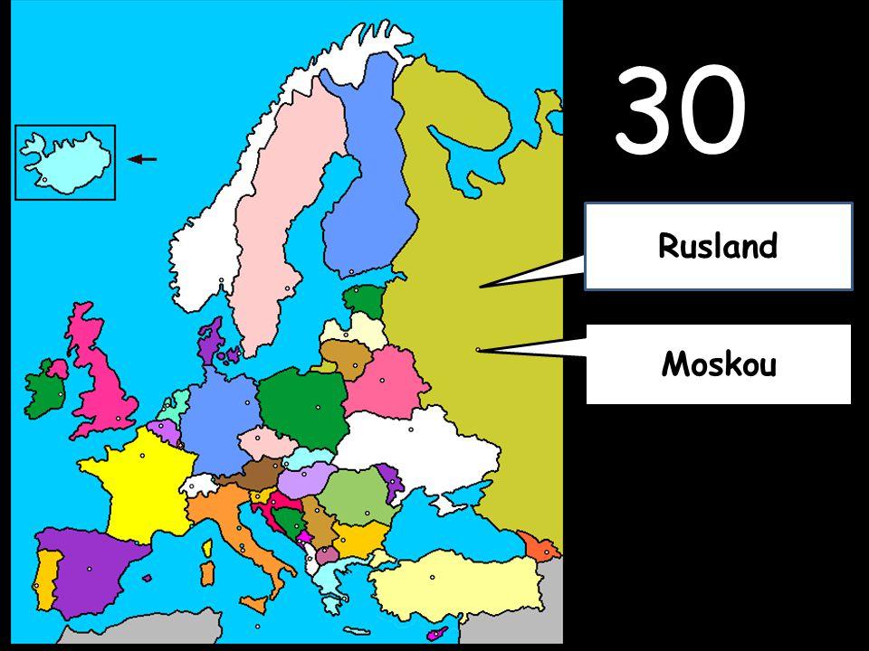 30 Moskou Rusland