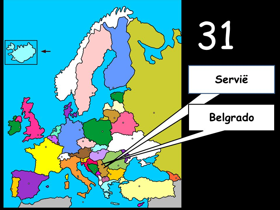 31 Belgrado Servië