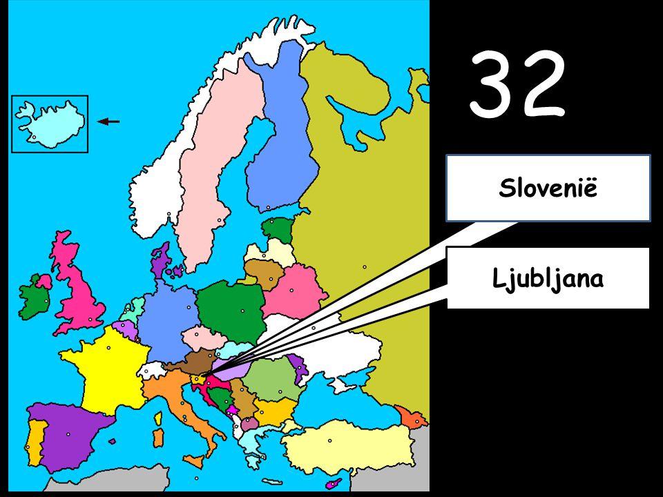 32 Ljubljana Slovenië