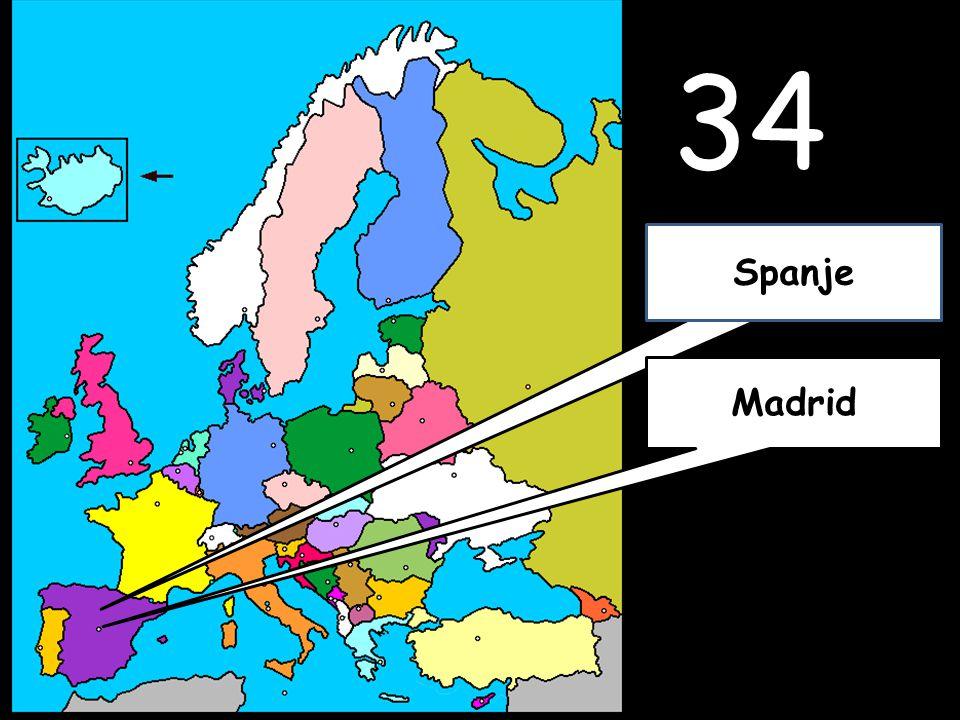 34 Madrid Spanje