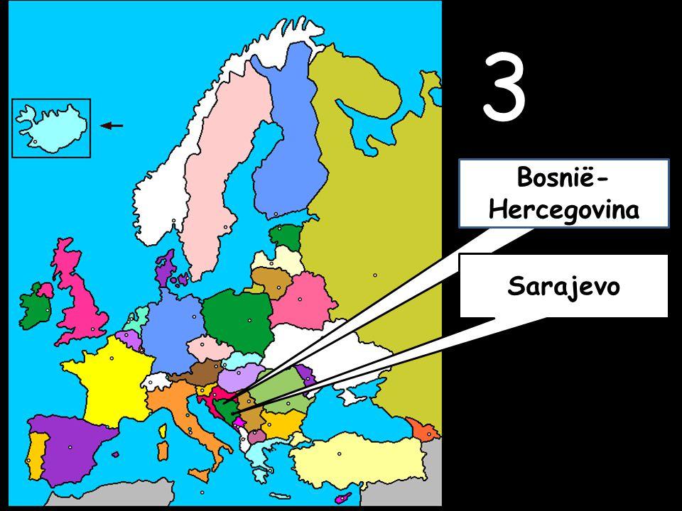 3 Sarajevo Bosnië- Hercegovina