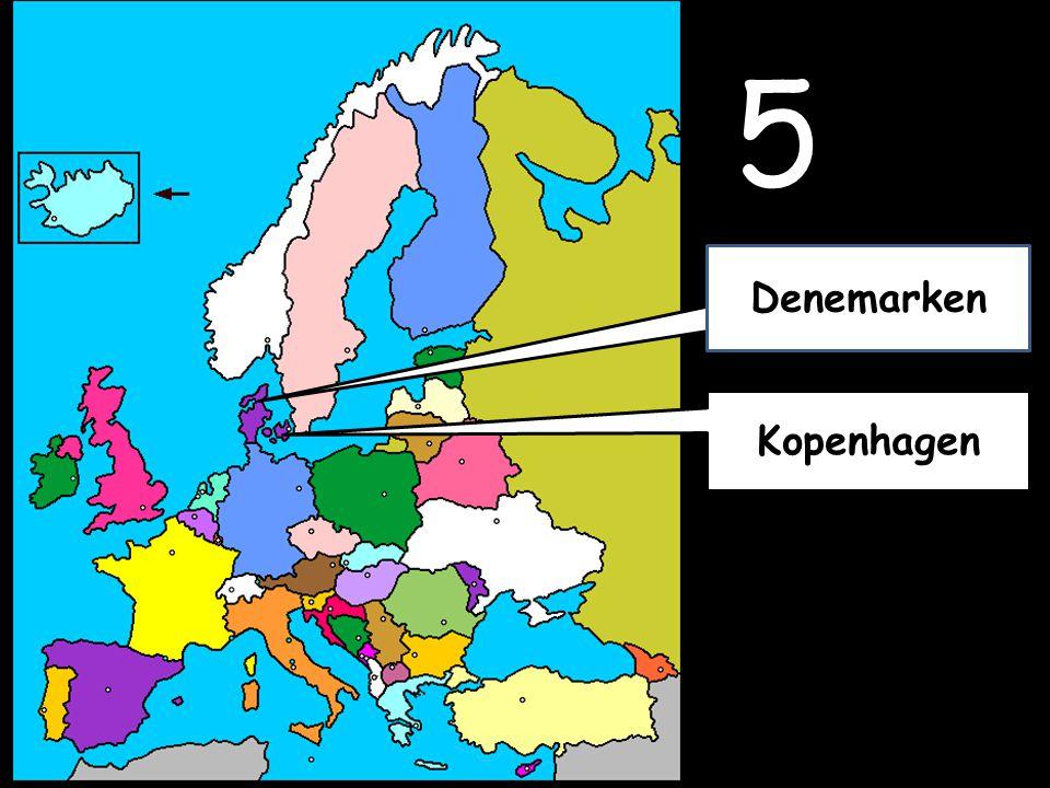 5 Kopenhagen Denemarken