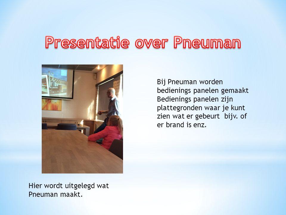 Hier wordt uitgelegd wat Pneuman maakt.