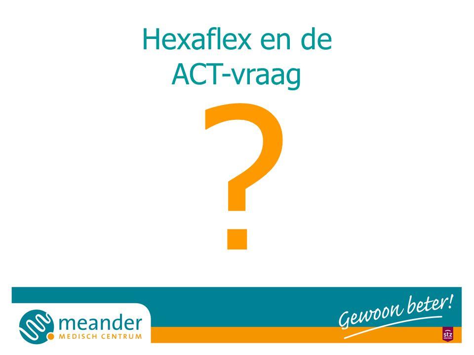 Hexaflex en de ACT-vraag ?