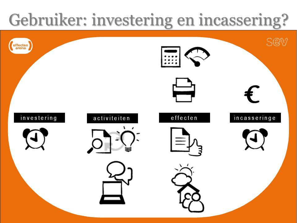 investering activiteiten effectenincasseringe n Gebruiker: investering en incassering?
