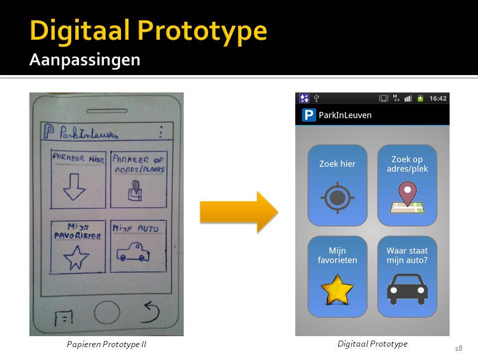 Papieren Prototype II Digitaal Prototype 18