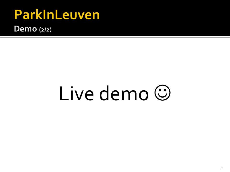 Live demo 9