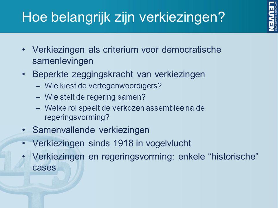 8. Kamerverkiezingen 2010 150 zetels