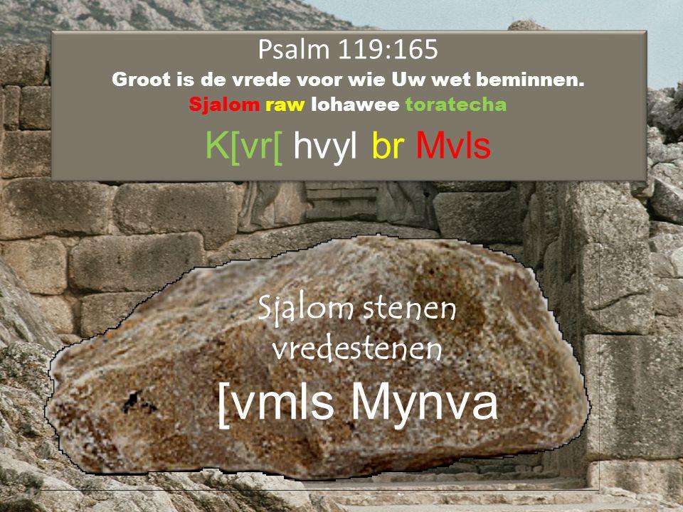 Psalm 119:165 Groot is de vrede voor wie Uw wet beminnen.
