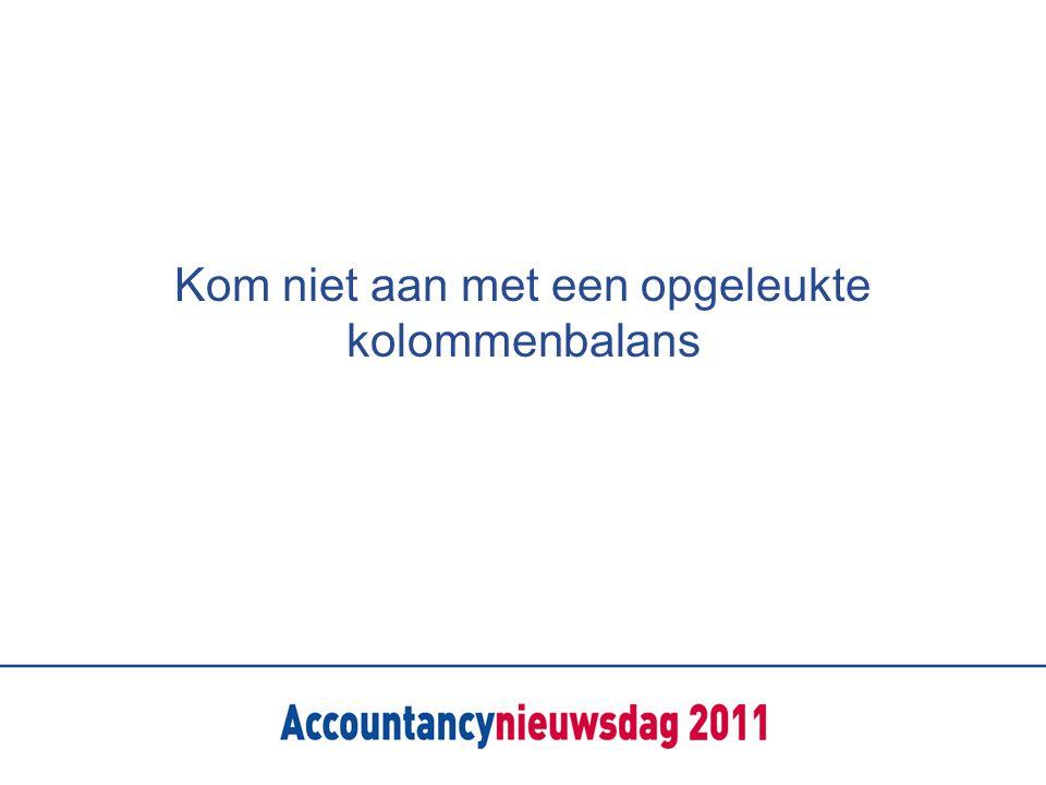 Stap 1: Strategische keuzes Een A4 Stappenplan Van traditioneel naar advies Van efficiency en vaktechniek naar omzet en productontwikkeling Algemene MKB accountant of focus Businessmodel?