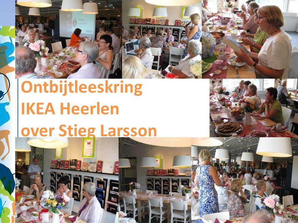 Ontbijtleeskring IKEA Heerlen over Stieg Larsson