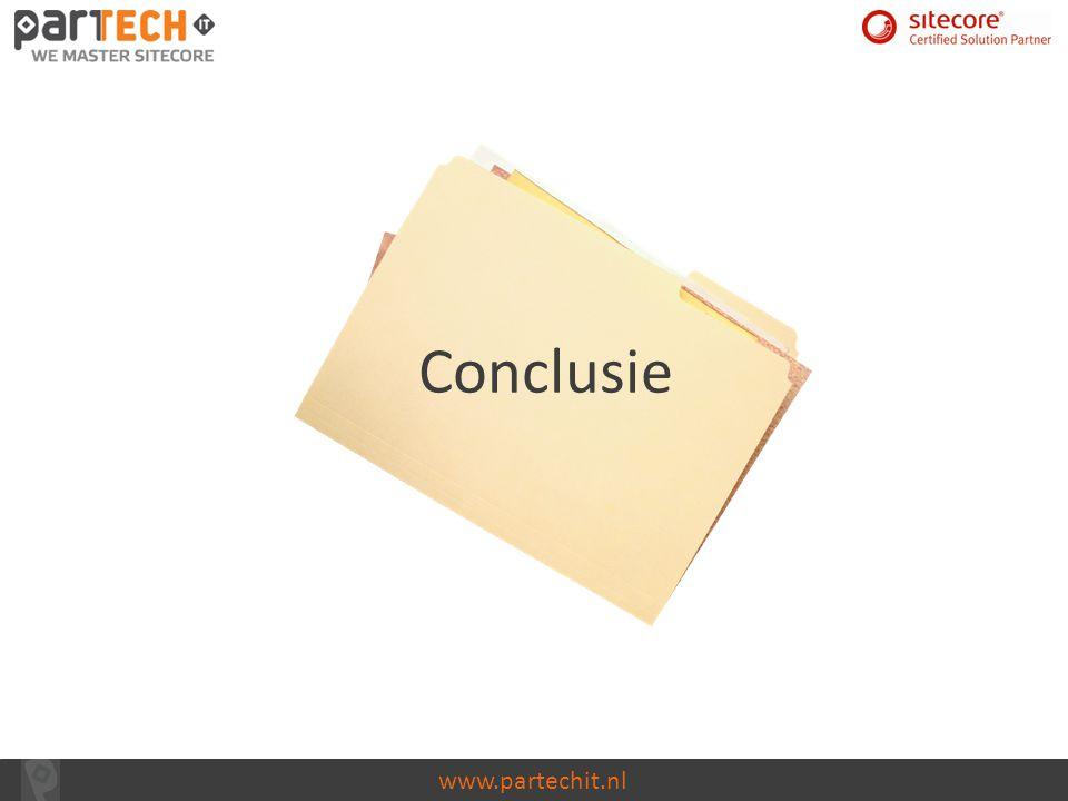 www.partechit.nl Conclusie
