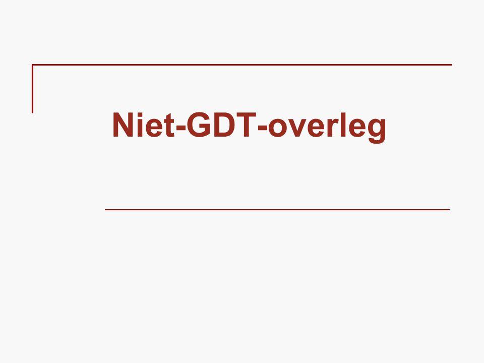 Niet-GDT-overleg