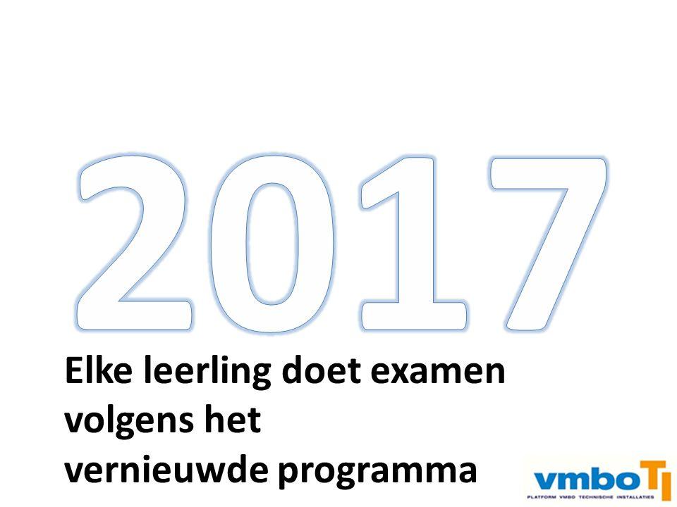 Examen vmbo –> doorstroom mboExamen mbo n2 –> arbeidsmarkt Elke leerling start in klas 3 met het vernieuwde programma